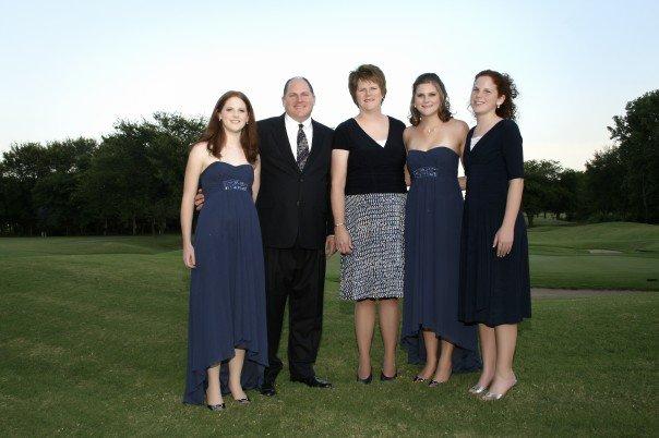 My family in Tulsa, 2007, at my cousin Kelli's wedding.
